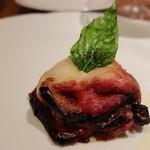 トスカネリア - トマト煮込みのトリッパ