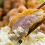 宮崎 小林養鶏 直営店 しちりん焼肉 わさび - 宮崎名物『チキン南蛮』