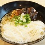 成駒家 - 料理写真:焼さばそうめん(870円)