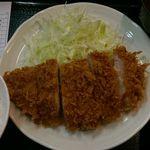 とんかつ まるや 青山店 - ロースカツ定食(700円)