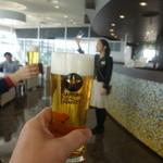 サッポロビール千葉工場 マリンハウス - 乾杯!!