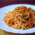 ロッジ赤石 - ナポリタンスパゲッティー