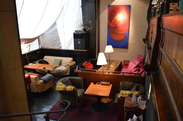 ジャルディーノ - 喫煙席はソファーのゆったり感♡