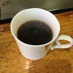 お好みハウスレオン - サービスのコーヒー