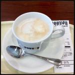 ドトールコーヒーショップ - カフェラテ¥250円