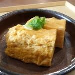 自家製粉石臼挽きうどん 青空blue - ☆出汁巻き(*^。^*)☆