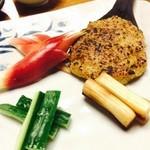 45349826 - 焼き味噌、野菜スティック添え