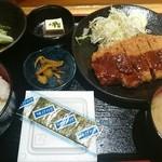 個室居酒屋 とくいちの屋 - 味噌カツ定食