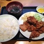 マルナカ - 唐揚げ定食