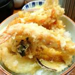 てんぷら 味覚 - 塩天丼1300円