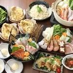 天ぷら海鮮 五福 - 海鮮寄せ鍋コース