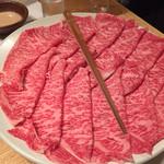木曽路 - 和牛極上特選霜降肉