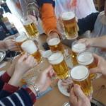 千葉ビール園 - 乾杯!!