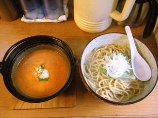 あすなろ食堂 - トマトつけ麺(中) ¥800