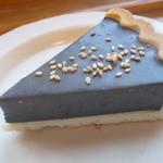 45356818 - 黒胡麻レアチーズケーキ