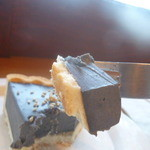 45356820 - 黒胡麻レアチーズケーキ