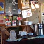 ハッピーハッピーカレー - <'15/12/09>お代りOKのスープ