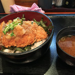明治亭 - おろしカツ丼