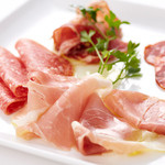 Pine Tree Bless - Prosciutto and salami Plate