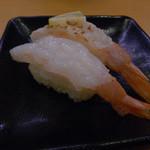 スシロー - 天然えびの食べ比べ