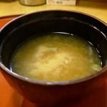 文字平 - 味噌汁