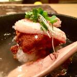 45360815 - 香箱ガニの蒸し鮨