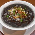 餃子の花家 - 美容や健康に役立つ焙煎された黒胡麻をふんだんに使用        ディナー限定