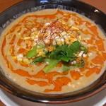餃子の花家 - 白ゴマ担々麺も当店オリジナルの癖になる味