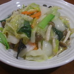 餃子の花家 - 野菜が主役の塩あんかけ焼きそば ディナー限定