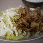 まんぷく食堂 - 料理写真:焼肉定食~☆