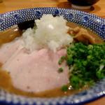 喜元門 - 鶏魚介煮干(低温チャーシュー) ¥800(ボケボケスミマセン)