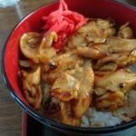 笹 - ハラミ丼美味い!(¥350)