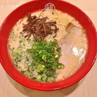 【自家製スープ】こだわりのラーメン