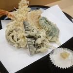 魚河岸 - 天ぷら盛り合わせ