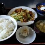 中国料理の店 ビックチャイナ - 回鍋肉ランチ