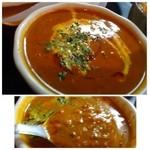 45364830 - キーマカレーは挽肉タップリで好みのテイストです。