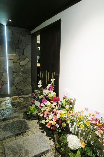 熟成古酒 Elevage - お祝い花も届いて★
