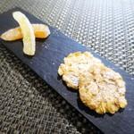 ル モマン - アーモンドクッキー  グレープフルーツ・ピール