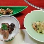 45368977 - 小鉢さん 煮凝り ぬた 牡蠣