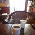 粉とクリーム 石窯夢工房 - コンビニコーヒーには負けません!