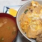 あかさき食堂 - 味噌汁ありがとう♬サービスしてくれたわい