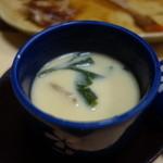 とんかつ錦 - (2015/12)茶碗蒸しのネタは?