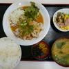 ひょうたんや - 料理写真:若鶏おろしポン酢定食(850円)