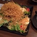 45375986 - 手作り豆富バリ麺ごまサラダ