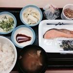 松屋 - シャケ定食