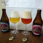 盛田金しゃちビール犬山工場 - 「ウィンナスタイルラガー」(写真左)「ウィンナスタイルラガー」(写真右)