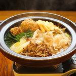 穂卓 - 十四豚鍋(醤油or辛味噌)