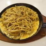 カフェ ビアンカ - 鉄板スパイシーカレースパゲッティ