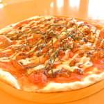 カフェ ド ヒラオカ - 照り焼きチキンピザ