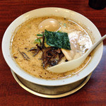 2代目哲麺 - 豚骨醤油味玉ラーメン